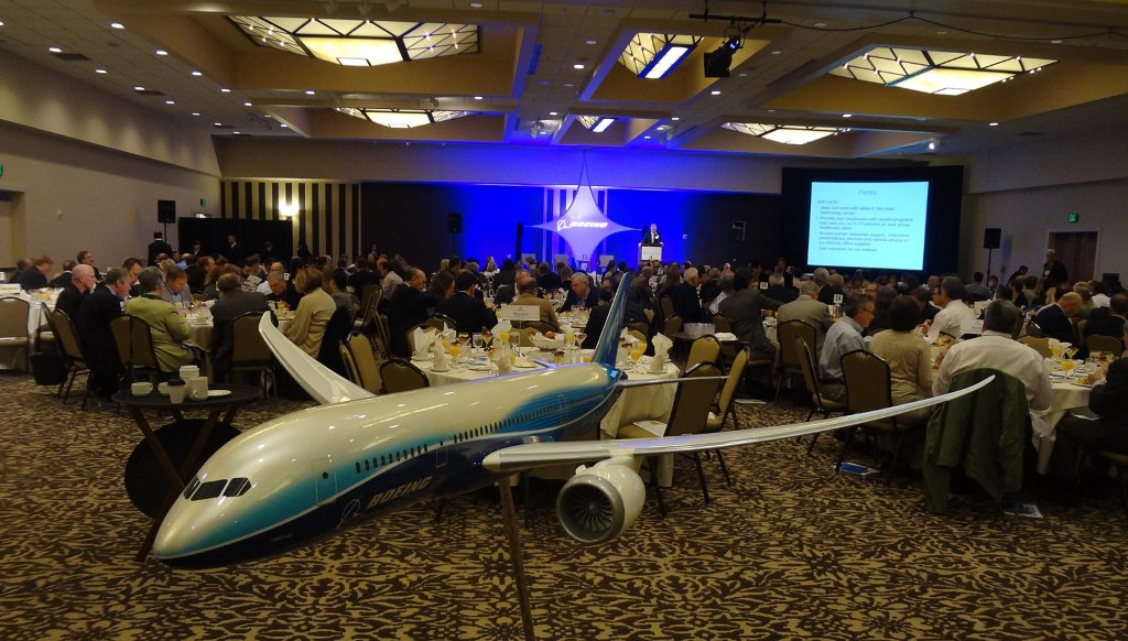 Boeing aircraft WCTA Annual Meeting 2012